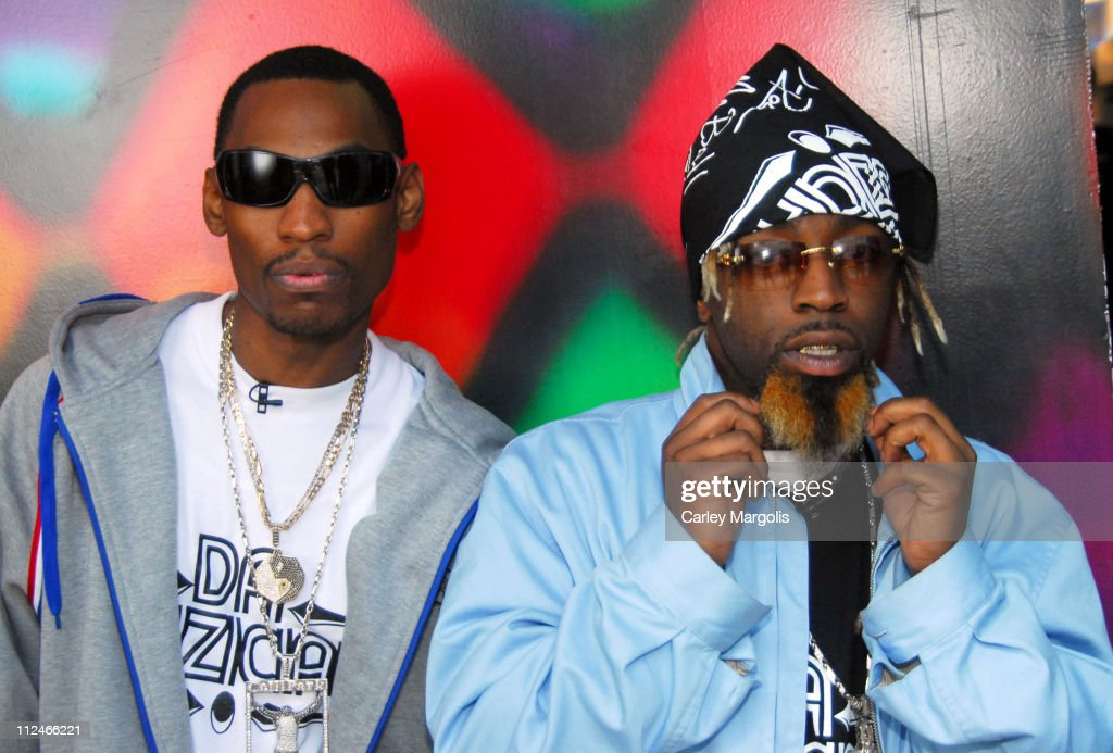 Ying Yang Twins during Bubba Sparxxx and Ying Yang Twins Visit MTV2s Spreak Break Booty March 10 2006