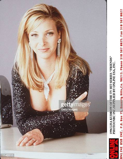 1996 LISA KUDROW OF THE TV HIT SERIES 'FRIENDS'