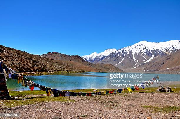 CHANDERTAAL LAKE SPITI HIMACHAL INDIA
