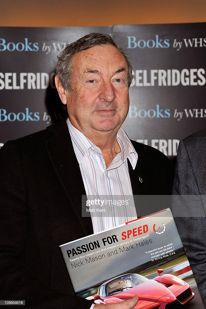 Nick Mason and Mark Hales Sign Copies of 'Passion for Speed'