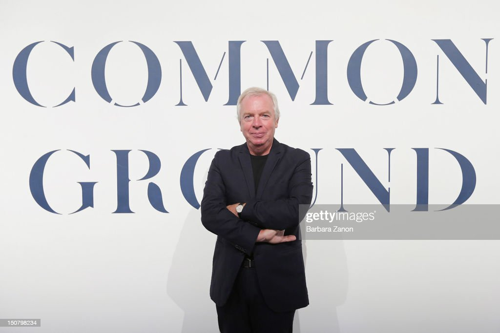 Director of Biennale <a gi-track='captionPersonalityLinkClicked' href=/galleries/search?phrase=David+Chipperfield&family=editorial&specificpeople=2103568 ng-click='$event.stopPropagation()'>David Chipperfield</a> attend La Biennale di Venezia - 13th International Architecture Exhibition at the Corderie dell'Arsenale on August 26, 2012 in Venice, Italy. The 13th International Architecture Exhibition is titled Common Ground and will be open from August 29 - November 25.