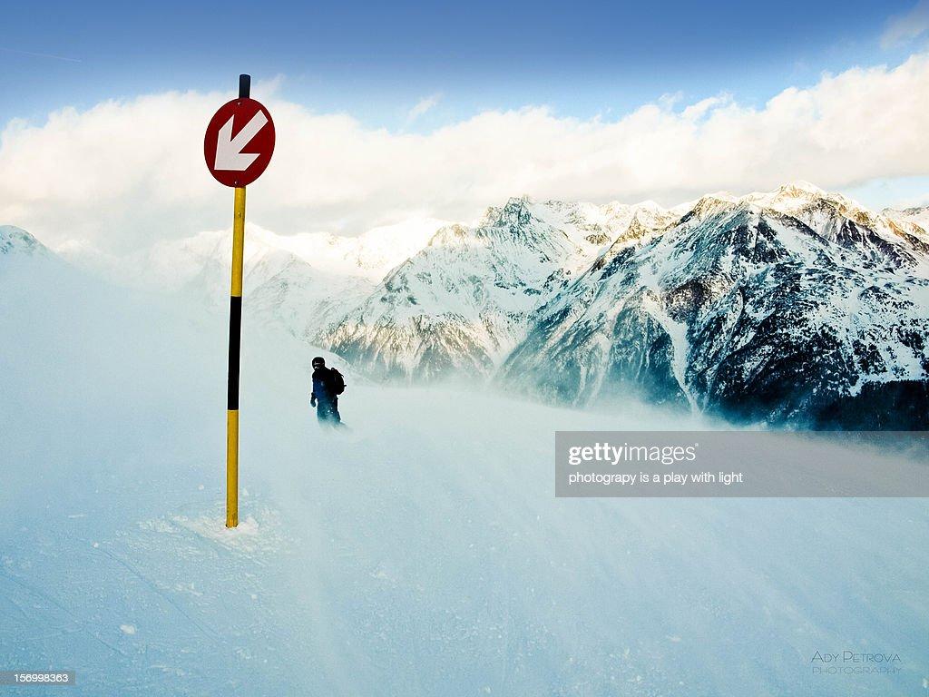 SÖLDEN AUSTRIA : Stock Photo