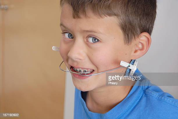 BOY IN BRACES