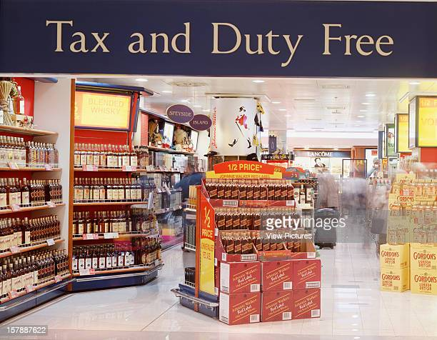 Duty Free Terminal 2 Heathrow Airport Hounslow United Kingdom Architect Hok International Duty Free Terminal 2
