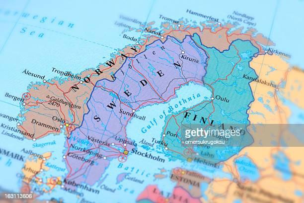 SWEDEN, NORWAY, FINLAND