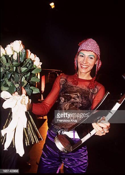 Marusha Als Preisträgerin Bei Der Echo Verleihung 1995