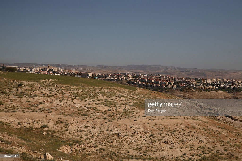 JEWISH SETTLEMENT IN WEST BANK : Stock Photo