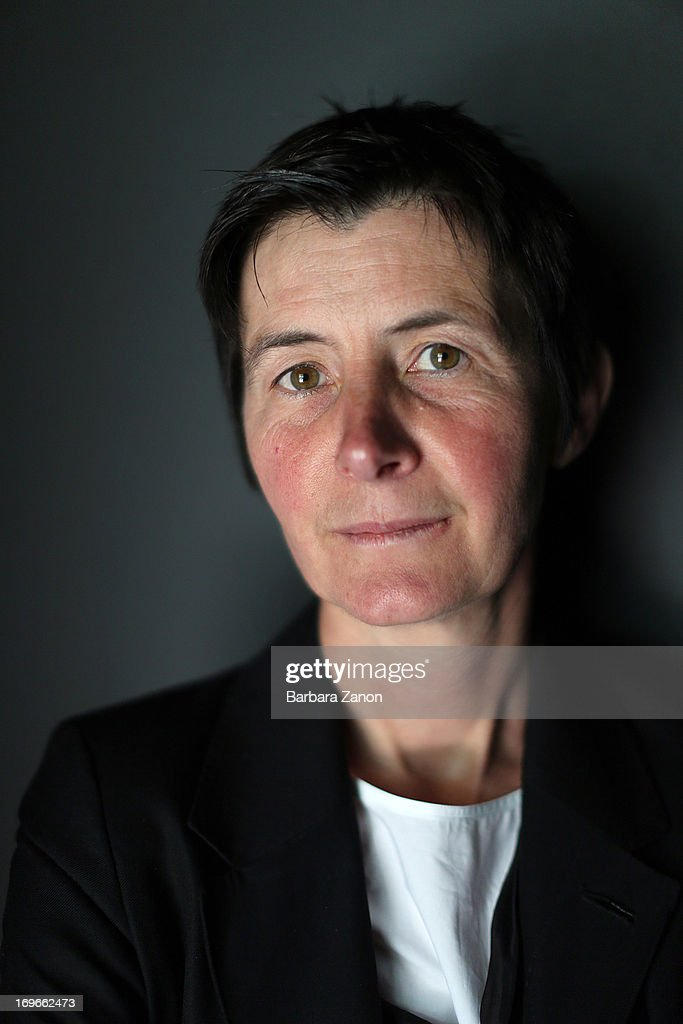 Artist Berlinde De Bruyckere poses during the opening of The 55th International Art Exhibition at Giardini on May 30, 2013 in Venice, Italy. The 55th International Art Exhibition of La Biennale di Venezia will be open to the public from June 1- November 24, 2013.