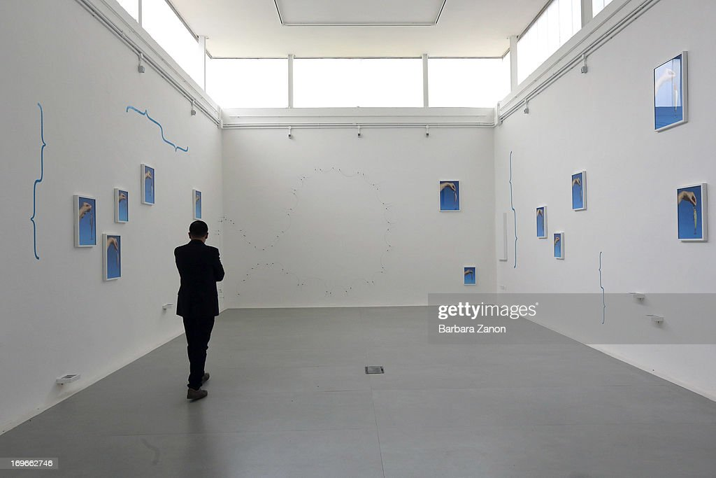 General view of Brasilian Pavilion during the opening of The 55th International Art Exhibition at Giardini on May 30, 2013 in Venice, Italy. The 55th International Art Exhibition of La Biennale di Venezia will be open to the public from June 1- November 24, 2013.