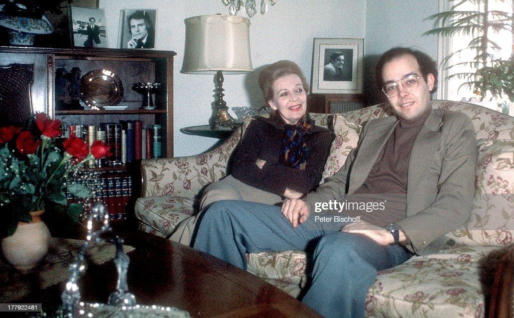 Martha Eggerth Sohn Marjan Kiepura Homestory Rye Nahe New York