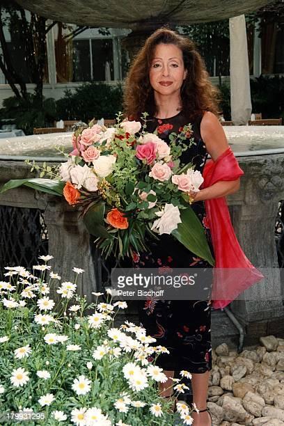 Vicky Leandros 'FleuropLady des Jahres1999' Blumen Hamburg