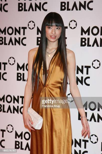 Chiaki Kuriyama Bei Der Mont Blanc Party 'Night Of The Stars' In Chamonix Am 020207