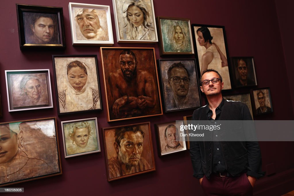 Press Preview For Artist Jonathan Yeo's Celebrity Portraits