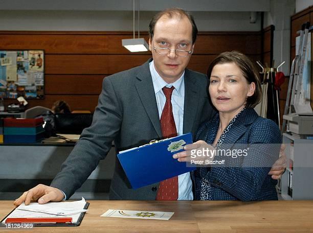 Martin Brambach Claudia Schmutzler ZDFSerie ' SOKO Wismar '