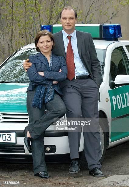 Claudia Schmutzler Martin Brambach ZDFSerie ' SOKO Wismar '