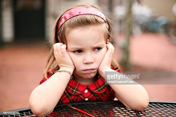 ANGRY LITTLE GIRL !