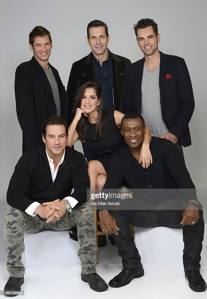 GENERAL HOSPITAL - TYLER CHRISTOPHER, ROGER HOWARTH, FRANK VALENTINI (EXEC. PRODUCER), KELLY MONACO, JASON THOMPSON, SEAN BLAKEMORE