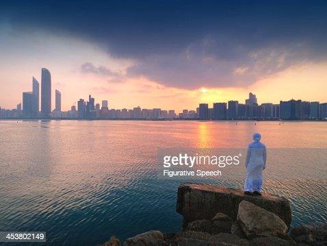 ABU DHABI - CORNICHE SKYLINE