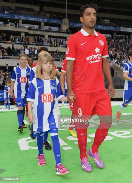 Sami Allagui of FSV Mainz 05 during the Bundesliga match between Hertha BSC and 1 FSV Mainz 05 on september 13 2014 in Berlin Germany