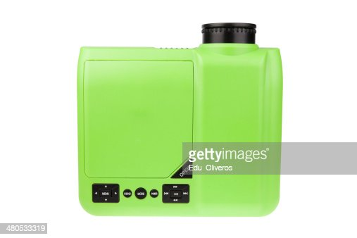 HDTV DVD LCD PROJECTOR - STOCK IMAGE : Stock Photo