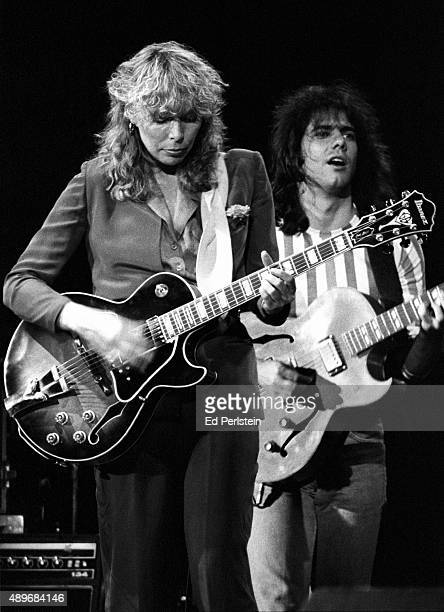 Joni Mitchell and Pat Metheny perform at the Civic Auditorium in San Francisco September 7 1979