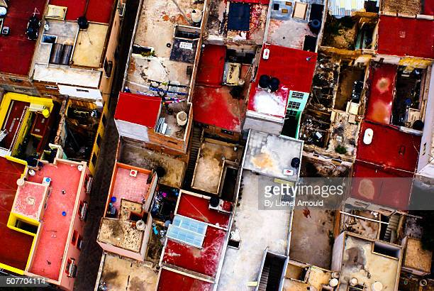 HOUSES FROM ABOVE IN ZACATECAS