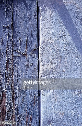 TWO SHADES OF BLUE ANTIGUA WEST INDIES : Stock Photo