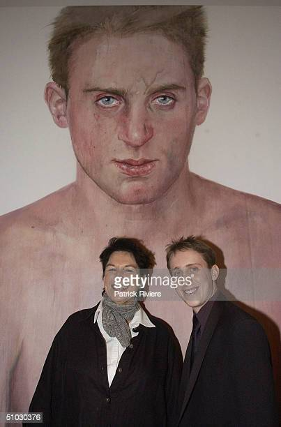 PIECE 'SIMON TEDESCHI UNPLUGGED' THE WINNER OF AT THE 2002 AUSTRALIAN ARCHIBALD ART PRIZE AWARDS IN SYDNEY