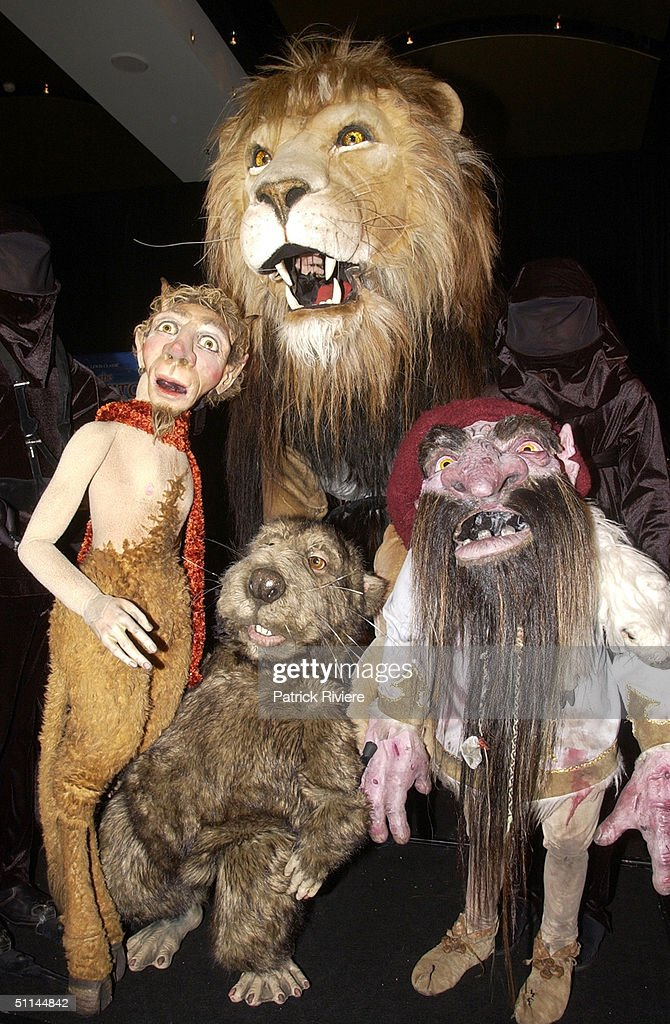 THE CREATURES OF NARNIA INTRODUCTED TO SYDNEY FROM THE STAGE ADAPTATION OF 'THE LION, THE WITCH AND THE WARDROBE' AT STAR CITY CASINO.