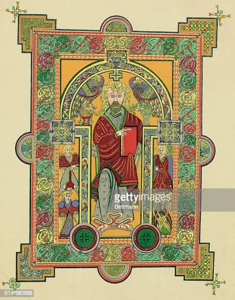 SAINT MATTHEW FROM THE BOOK OF KELLS AD650690