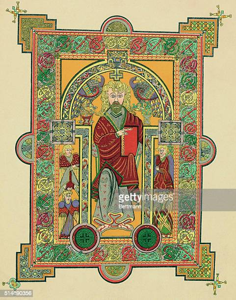SAINT MATTHEW FROM THE BOOK OF KELLS AD650690