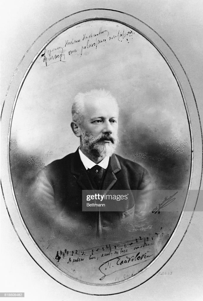P.TCHAIKOVSKY (1840-1893), RUSSIAN COMPOSER.PHOTOGRAPH C.1889.