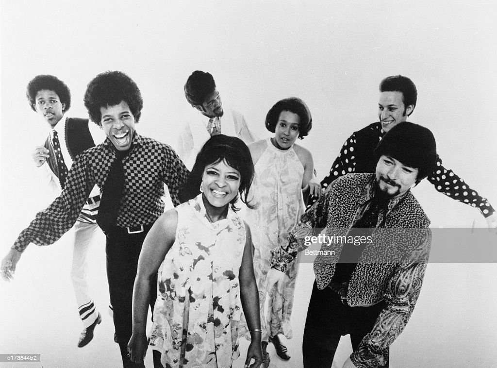 ROCK GROUP SLY AND THE FAMILY STONE. FILED 1969.