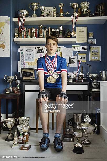 BOY WITH TROPHIES