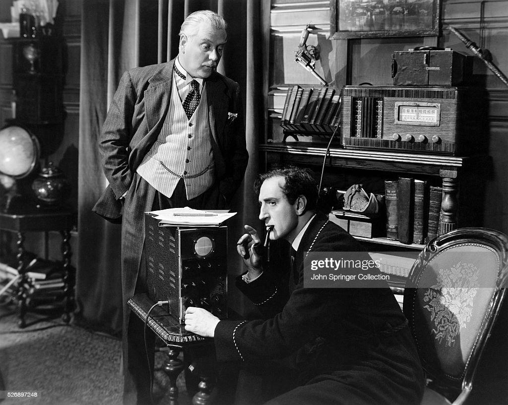FILM, 'SHERLOCK HOLMES AND THE VOICE OF TERROR.' UNDATED MOVIE STILL.