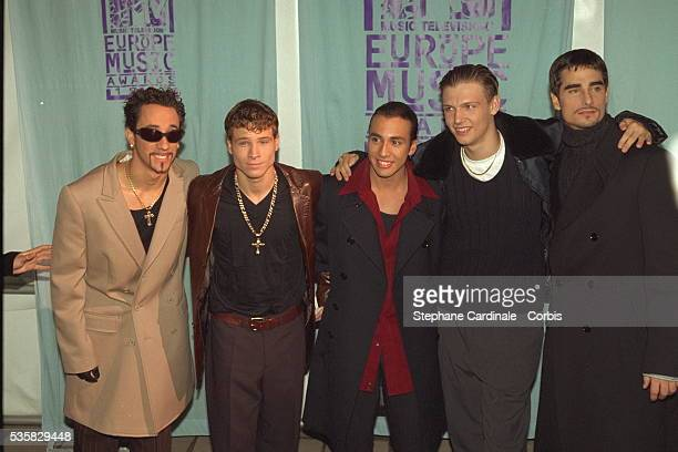 THE 'MTV EUROPE MUSIC AWARDS 97' IN ROTTERDAM