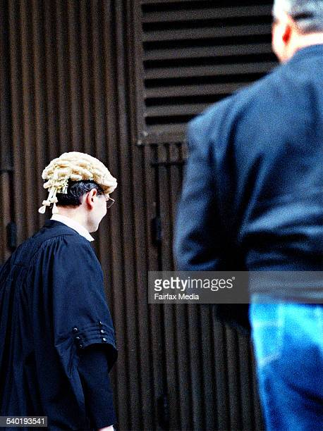 A BARRISTER HEADS BACK TO THE SUPREME COURT IN SYDNEY