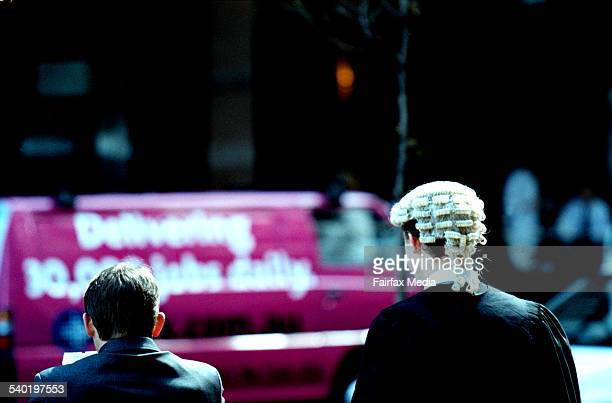 A BARRISTER HEADS BACK TO THE SUPREME COURT IN SYDNEY0