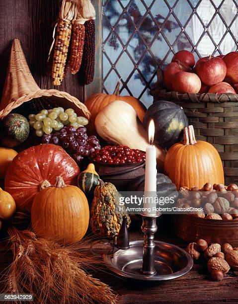 AUTUMN HARVEST STILL LIFE...