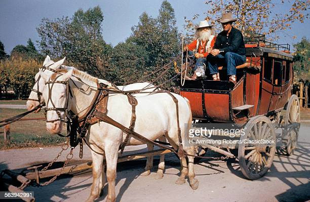 OLD BUTTERFIELD STAGECOACH...