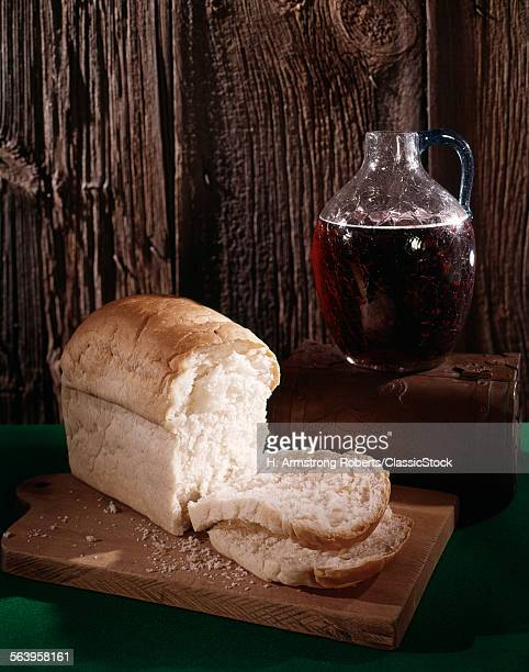LOAF BREAD GLASS PITCHER...