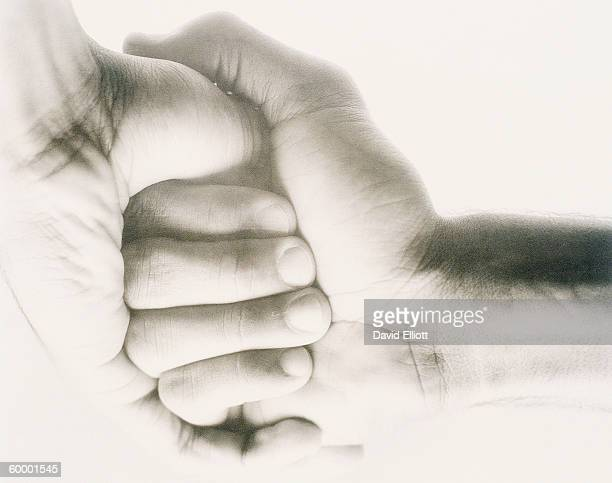 AFRICAN AMERICAN MALE HANDS, FIST