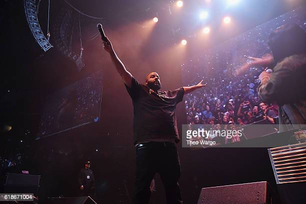 Khaled performs onstage during Power 1051's Powerhouse 2016 at Barclays Center on October 27 2016 in New York City