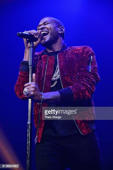 Usher performs onstage during Power 1051's Powerhouse 2016 at Barclays Center on October 27 2016 in New York City