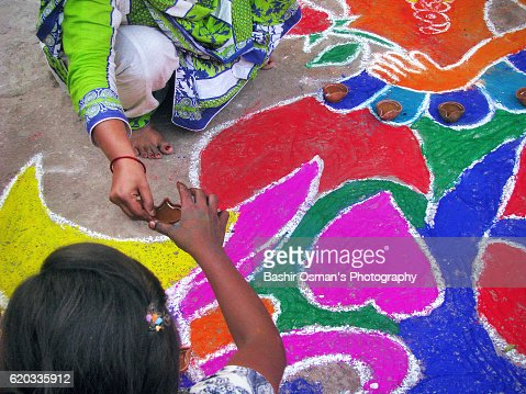 DIVALI IN PAKISTAN : Stock Photo