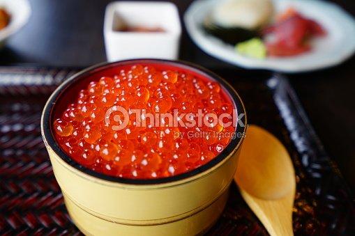イクラ(Salmon roe) : Stock Photo