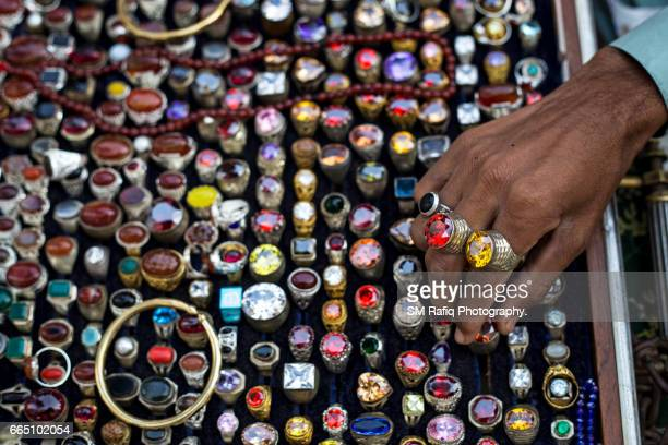 RING SELLER AT THE SHRINE OF QALANDAR