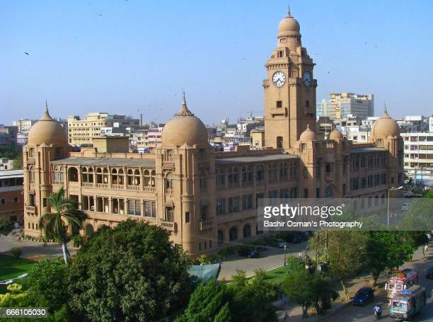 KMC BUILDING -THE OLD CITY AREAS OF KARACHI