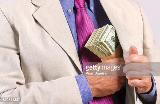 PROCEEDS OF CRIME : Stock Photo