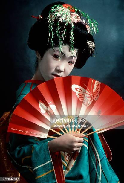 JAPANESE KABUKI DANCER IN...